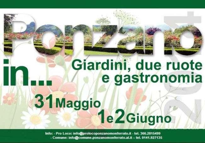 Ponzano in giardini due ruote e gastronomia monferrato org - Il giardino di barbano ...