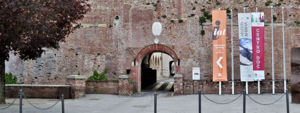 Tourist Information. New office at the Castle in Casale Monferrato